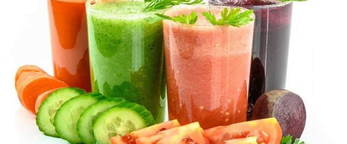 Натуральные овощные коктейли для похудения